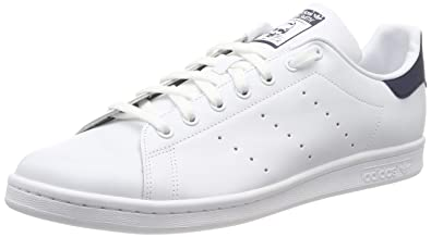 cb4b3d37f95 adidas Unisex Low Sneakers M20325 Stan Smith Size 38 White Blue