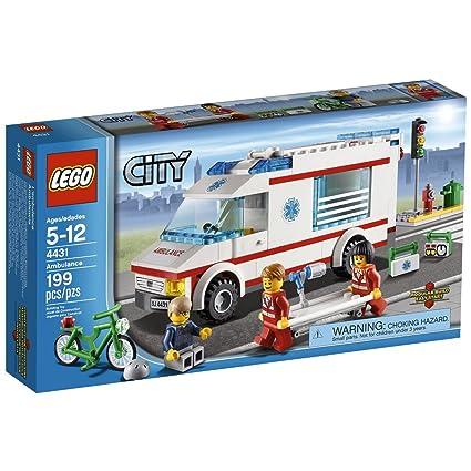 Amazon Lego City Ambulance 4431 Toys Games