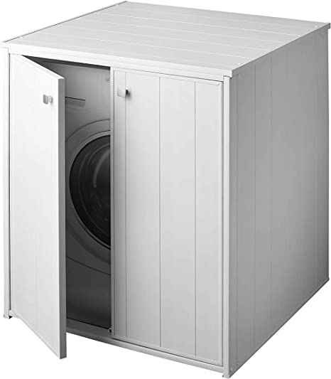 Negrari Am5013p Housse De Machine A Laver Xxl Pour Toutes Les Machines A Laver Seche Linge En Commerce Blanc Amazon Fr Bricolage