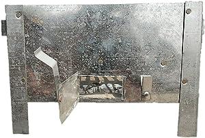 The. Hand made steel tandoor