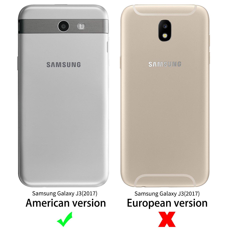 Funda Samsung Galaxy J3 2017 [Versión de EE.UU.],SLEO Cartera ...