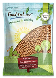 Garbanzo Beans, 15 Pounds - Whole Dried Raw Chickpeas, Kosher, Vegan, Bulk, Sproutable, Low Sodium, Good Source of Dietary Fiber, Protein, Iron, Folate, and Thiamin. Great for Hummus, Salads, Stews