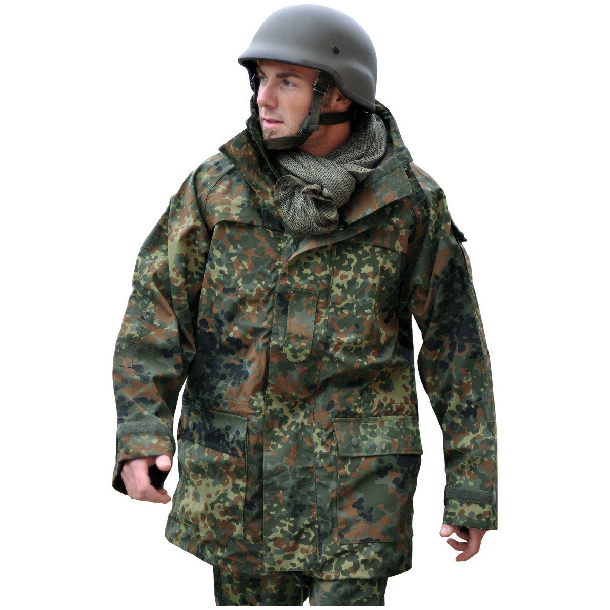 Mil-Tec Men's BW ECWCS Jacket Flecktarn size XXL