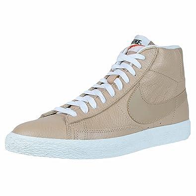 premium selection f0e80 76c08 Nike Blazer Mid Premium Linen Summit White Leather Casual Fashion 429988  202, 7.5 D(