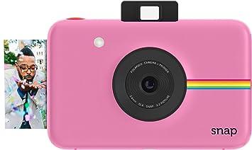Amazon.com : Polaroid Snap Instant Digital Camera (Pink) with ZINK ...