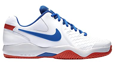 412676305f96 NIKE Men s Air Zoom Resistance Tennis Shoes (10.5 D(M) US
