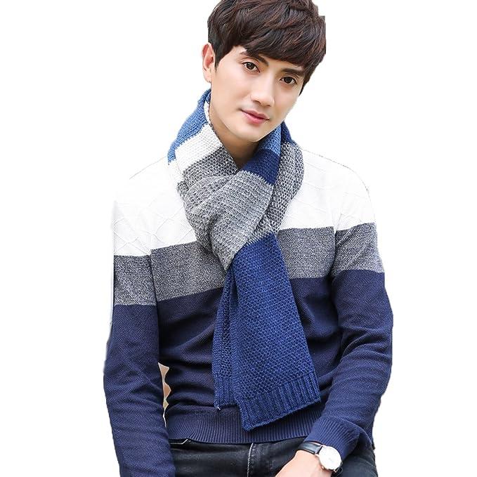 Bufanda para hombres, Youson Girl® Bufandas para hombres y mujeres Bufandas de invierno Kintted Fashion Bufanda cálida para…