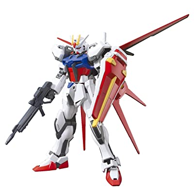 Bandai Hobby HGCE Aile Strike Gundam Model Kit (1/144 Scale): Toys & Games