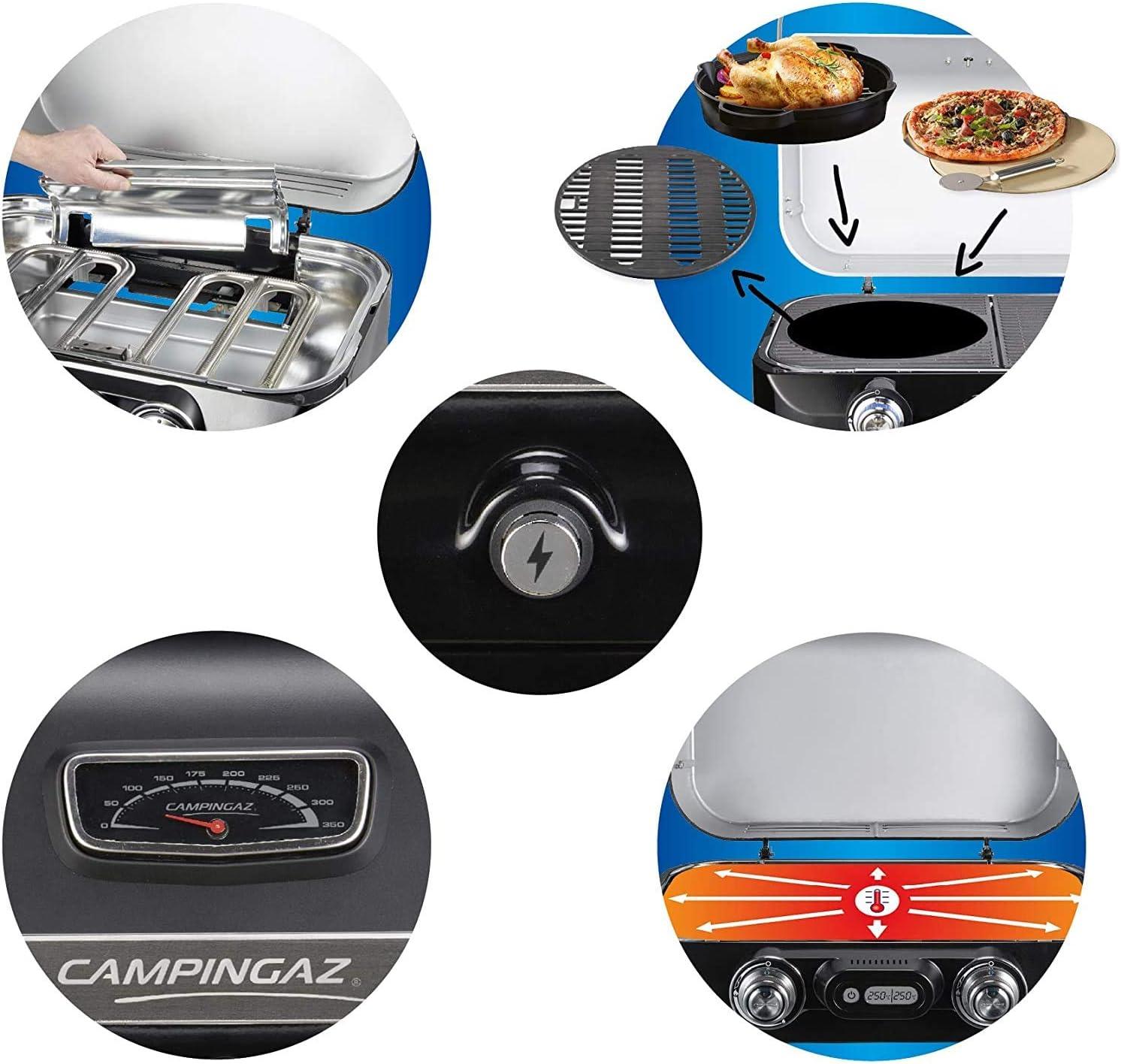 Campingaz Attitude 2100 LX - Barbacoa de gas portátil, 2 ...