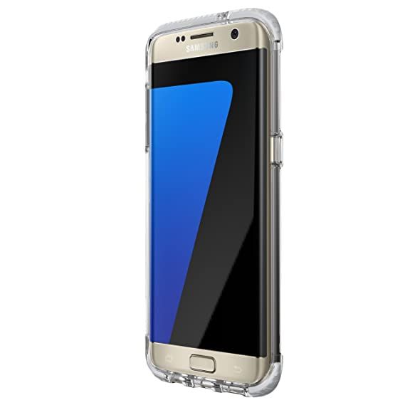 online store 83b0c 6ca98 Tech21 Evo Frame for Samsung Galaxy S7 Edge - Clear/White
