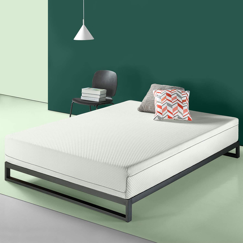 Zinus 10 inch Charcoal Memory Foam Mattress, Twin | eBay
