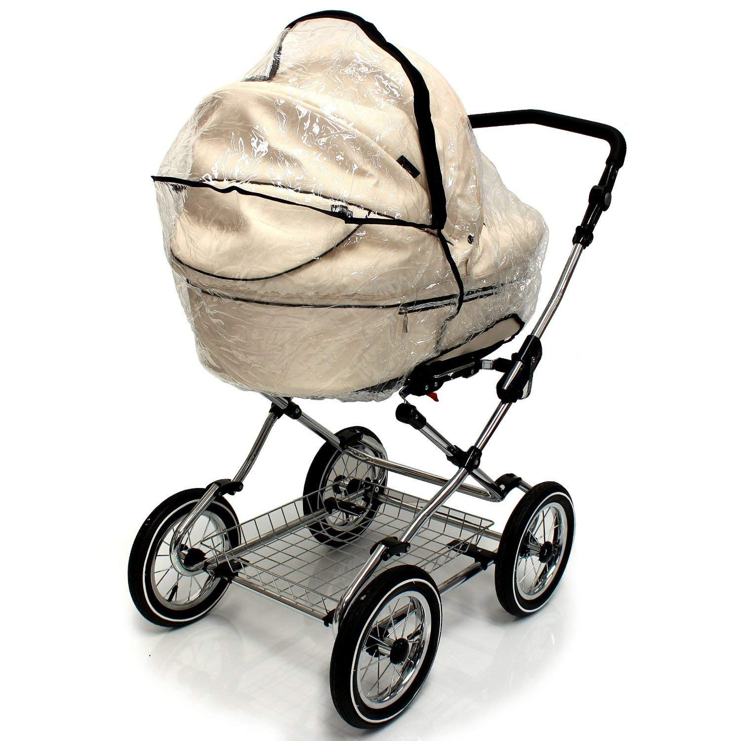 Baby Travel - Cubierta impermeable con cremallera para carritos Silvercross Freeway: Amazon.es: Bebé