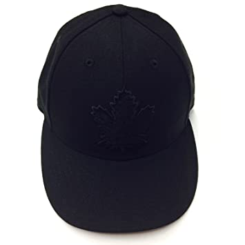 Toronto Maple Leafs NHL Hockey 59fifty Low Profile Black on Black Tonal  Fitted Cap Hat (7) 4f57adb41a01