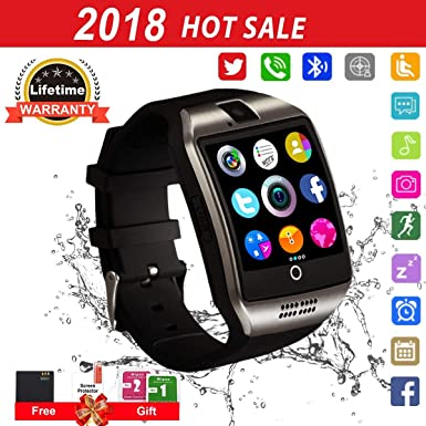 Smartwatch con Whatsapp,Bluetooth Smart Watch Pantalla táctil,Reloj Inteligente Hombre,Reloj Smartwatch, Impermeable Smartwatches Compatible Android ...