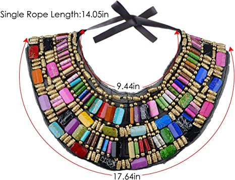 African Goat Leather Multi Strand Necklace with AMBER Women/'s Handmade Mali Tribal Uber Kuchi\u00ae