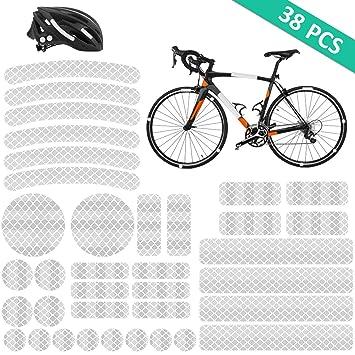 Radsport Beleuchtung Reflektoren 3m Aufkleber Set Sport