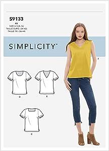 SIMPLICITY CREATIVE CORP Simplicity Pattern 8-10-12-14, k5 (8-10-12-14-16), Various