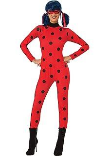 9a030ada855 Amazon.com: Rubie's Miraculous Ladybug Adult Costume, Small: Toys ...