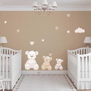Babyzimmer junge beige  JUJU & COMPAGNIE - Billy Bären in Beige -Kinderzimmer ...