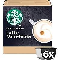 Starbucks Latte Macchiato By Nescafe Dolce Gusto Coffee Capsules, 12 capsules