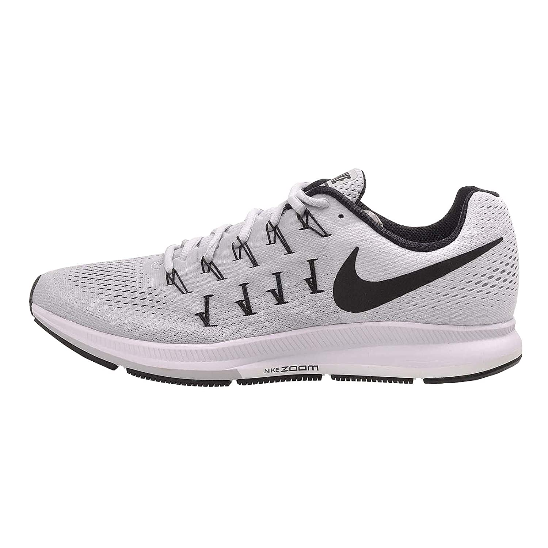 Nike Air Zoom Pegasus 33 TB, Zapatillas de Running para Hombre 42.5 EU Plateado (Plateado (Pure Platinum/Black-white))