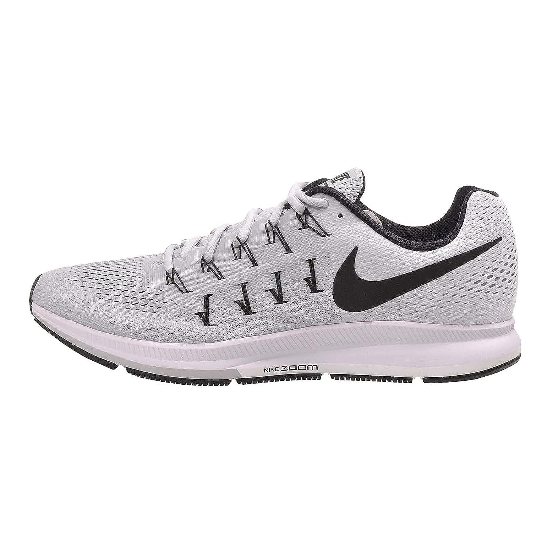 Plateado (Plateado (Pure Platinum schwarz-Weiß)) Nike Air Zoom Pegasus 33 TB, Hausschuhe de Running para Hombre