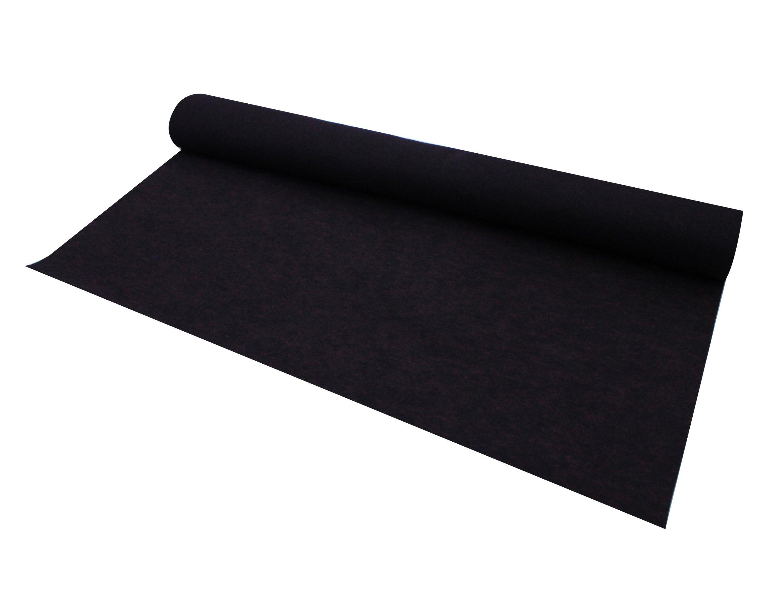 Absolute C10RD 10-Feet Long/4-Feet Wide Carpet for Speaker Sub Box, RV Truck Car/Trunk Laner (Red)