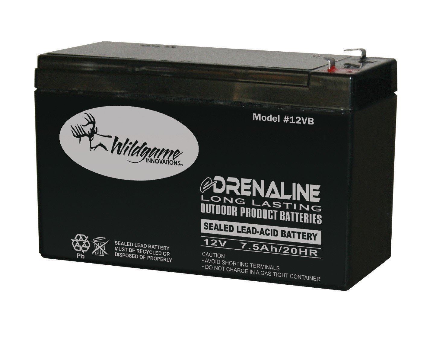 Wildgame Innovations 12 Volt eDRENALINE Rechargeable Tab Style Battery by Wild Game Innovations