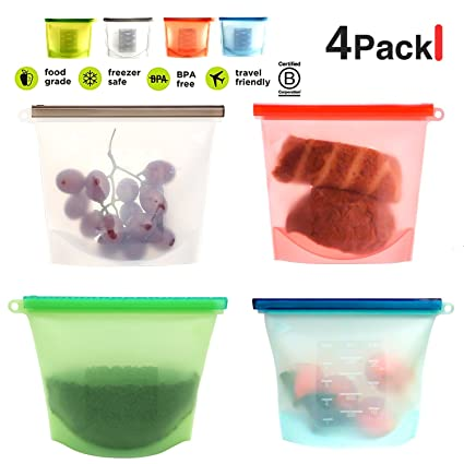 New U Fill Reusable Food Pouch 10 Snack Pack Easy Fill Clean Baby Food Storage Harmonious Colors Feeding Baby