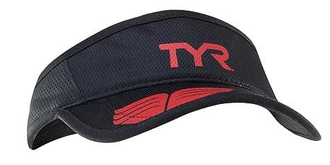 76f038e62700ce Amazon.com : TYR Running Visor, Black : Visors Headwear : Sports ...