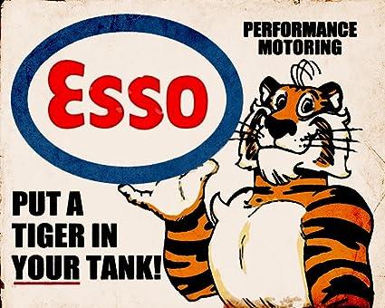Placa decorativa de publicidad de estilo vintage