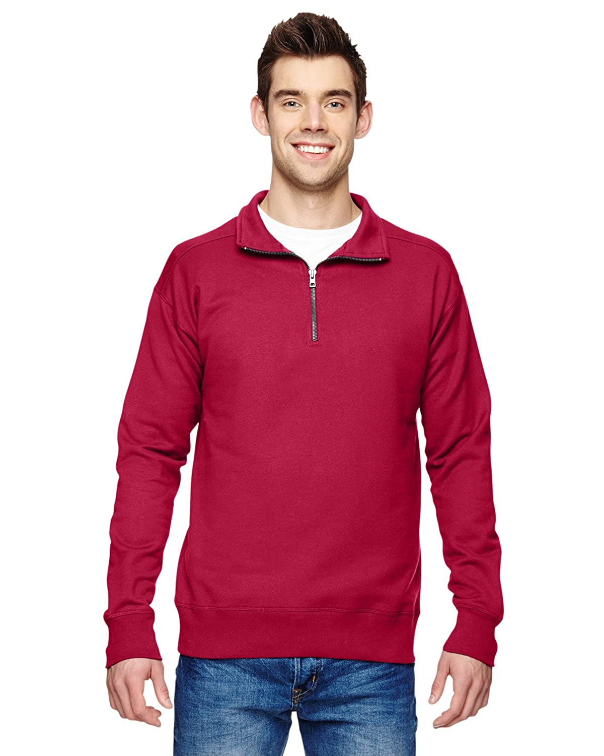 Hanes mens 7.2 oz. Quarter-Zip (N290)