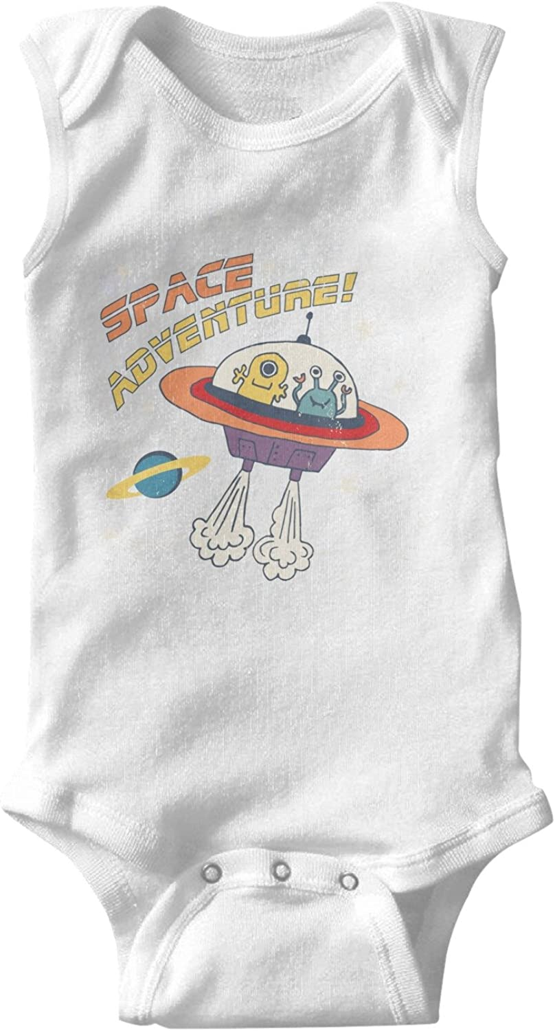 YAYAZAN Baby Infant Toddler Onesies Bodysuits Alien Cute Girls Cool Print Jumpsuit Playsuit Outfits