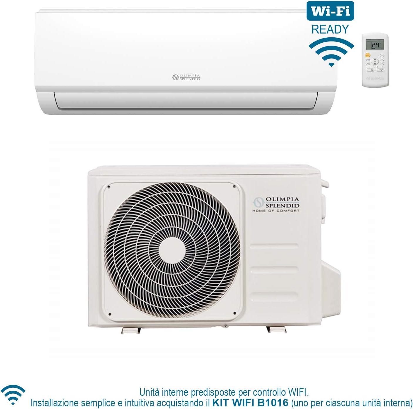 OLIMPIA SPLENDID ARYAL S1 E 10 HP CLIMATIZZATORE INVERTER 9000 BTU GAS R32 A++