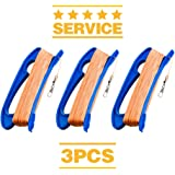 Kite Handle with Line, 300ft Durable String and Connector Ready, 3 pcs