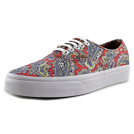 3601c3632c Buy Vans Unisex Authentic Paisley Skate Shoes-Paisley Cayenne-5-Women 3. 5- Men Online at Low Prices in India - Amazon.in