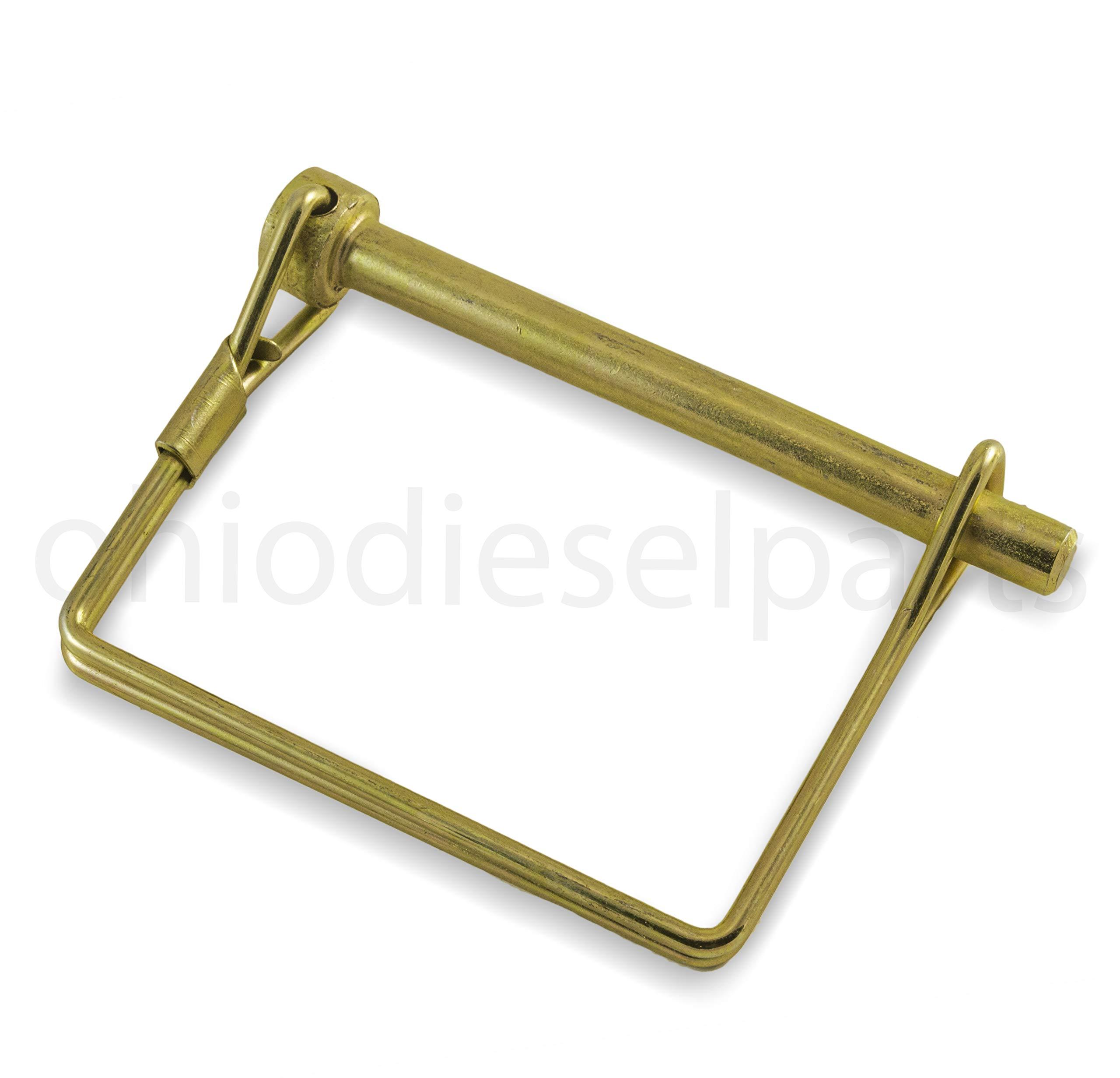 PTO Square Shaft Locking Pin 1/4'' x 2-1/4'' (Pack of 10)