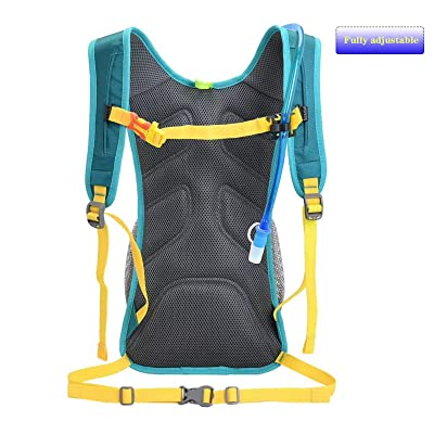 Opliy Hydration Pack,Hydration Backpack with 2L Hydration Bladder Lightweight Running Water Backpack for Women Men