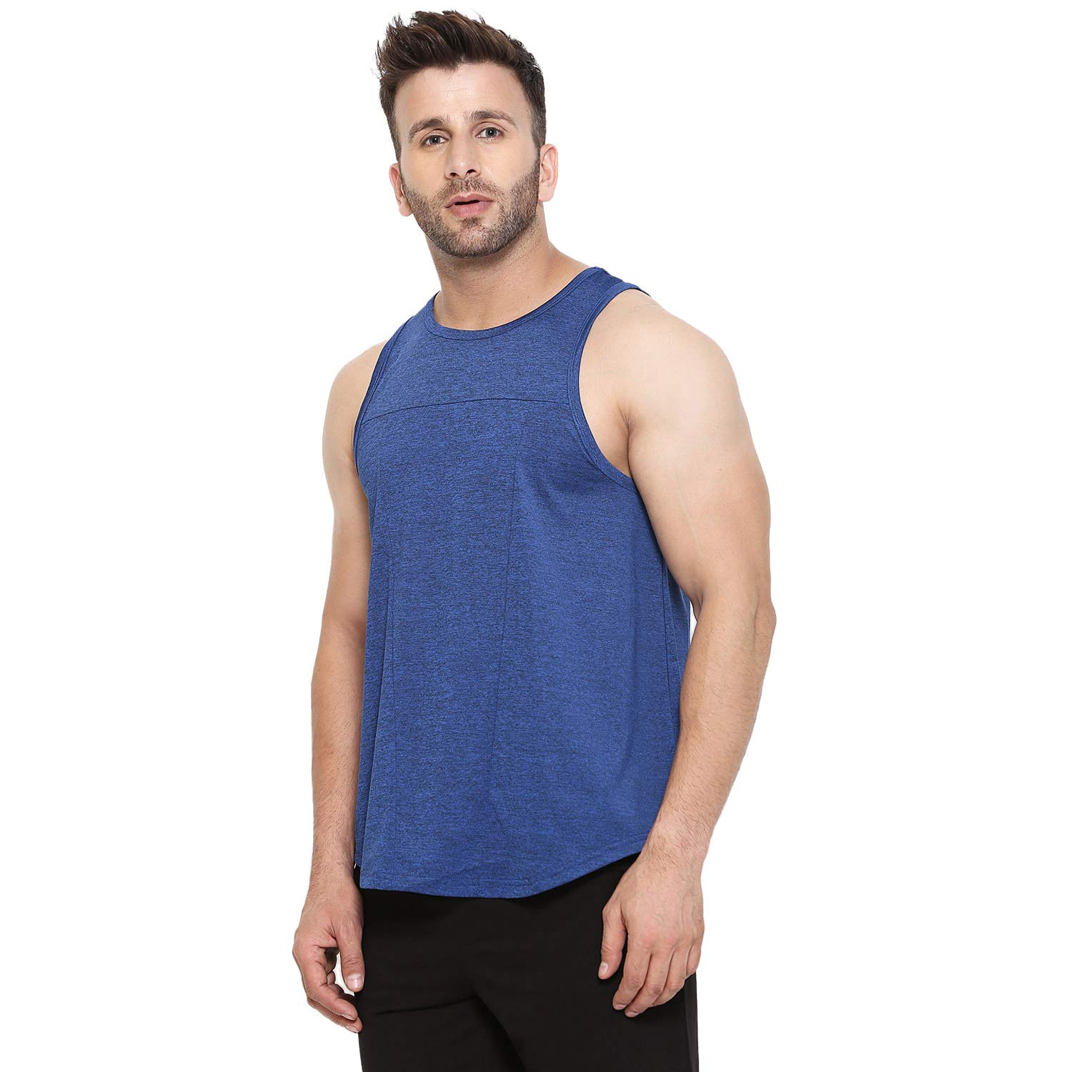 5dc821952e17a CHKOKKO Sleeveless Gym and Sportswear Tank Tops Sports Tshirt or Vests for  Men  Amazon.in  Clothing   Accessories