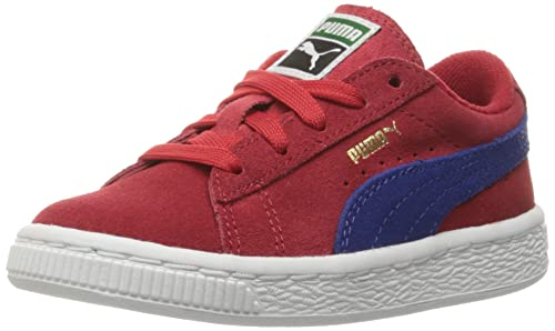 Puma Inf Cherrymazarine Kids M Us Blue6 SneakerBarbados Suede TOuXiPkZ