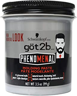 product image for got2b Phenomenal Molding Paste, 3.5 oz (Pack of 4)