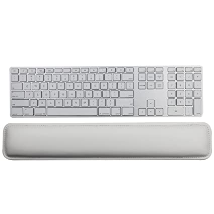 0316098a294 Image Unavailable. Image not available for. Color: Litop Ergonomic PU  Leather Keyboard Wrist Rest Pad ...