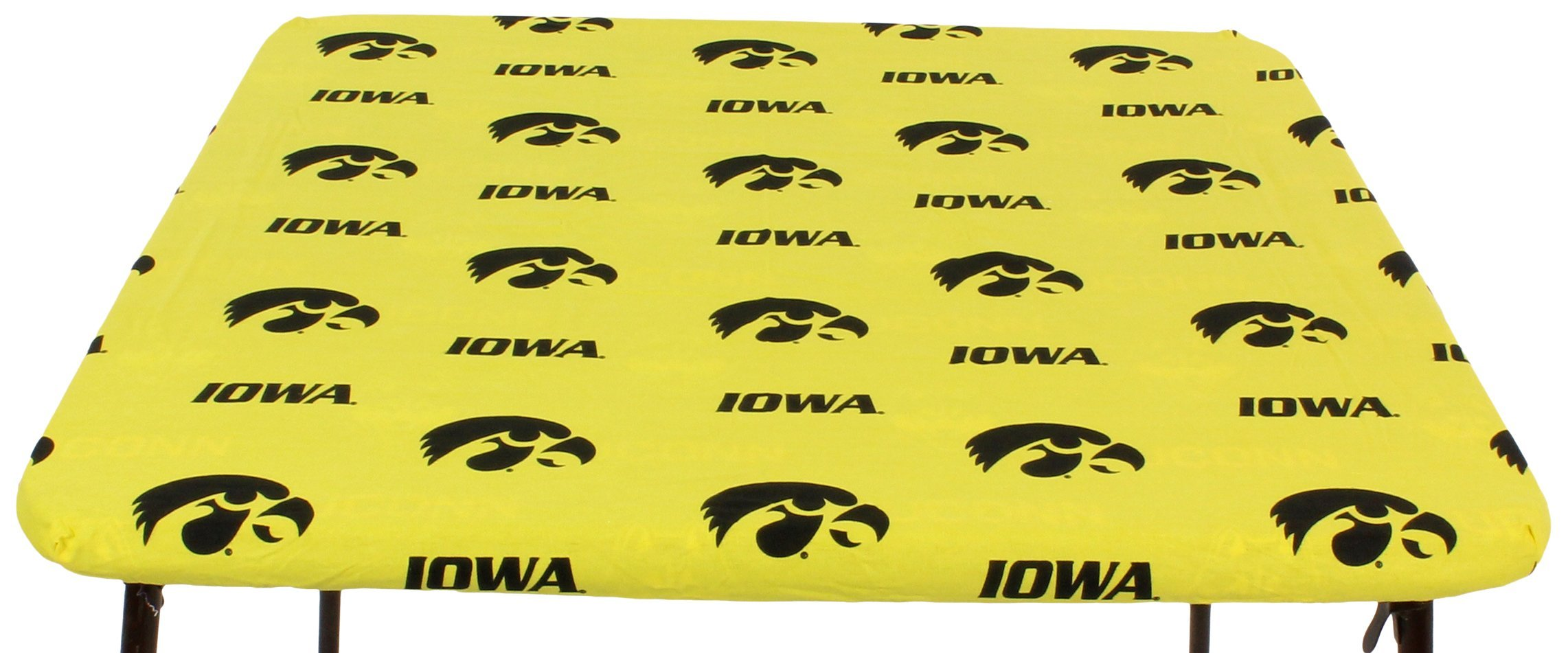 College Covers Iowa Hawkeyes Card Table Cover, 33 by 33''
