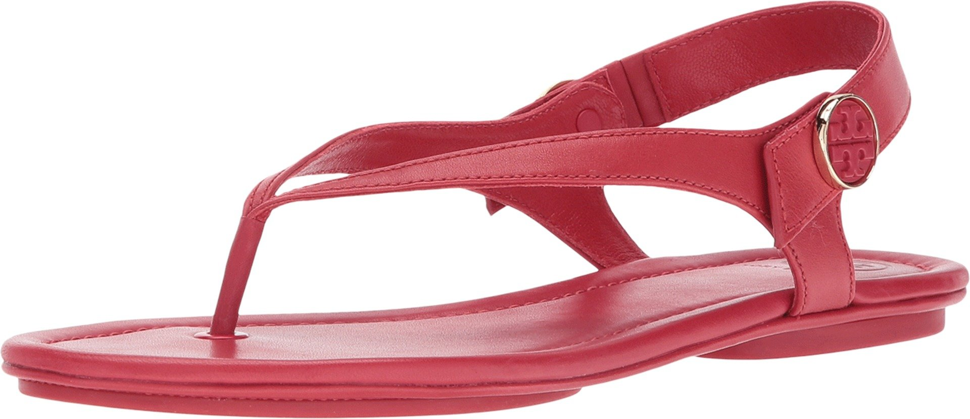 Tory Burch Minnie Leather Travel Sandal (10 M US')