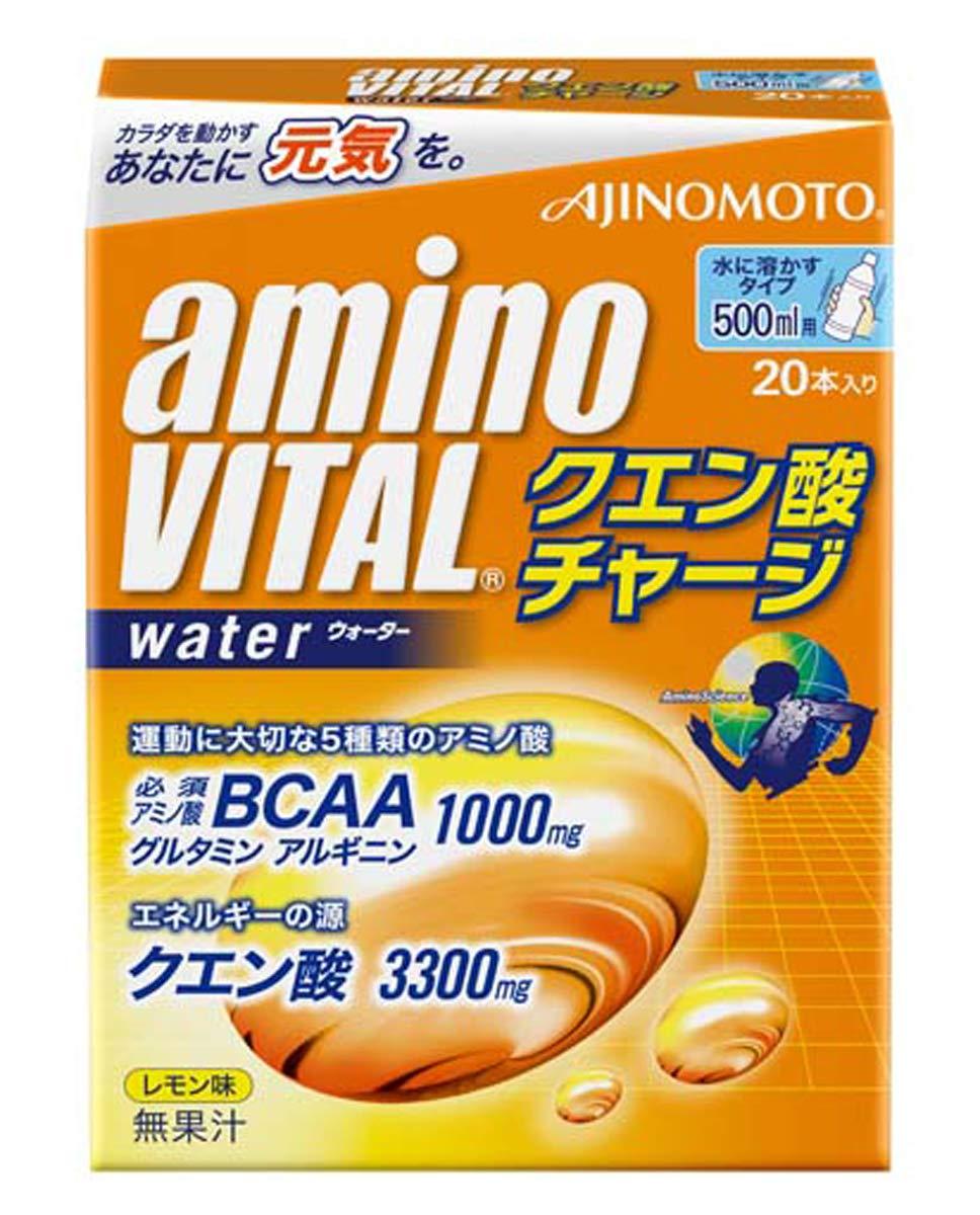 アミノバイタル クエン酸チャージウォーター20本入箱 product image