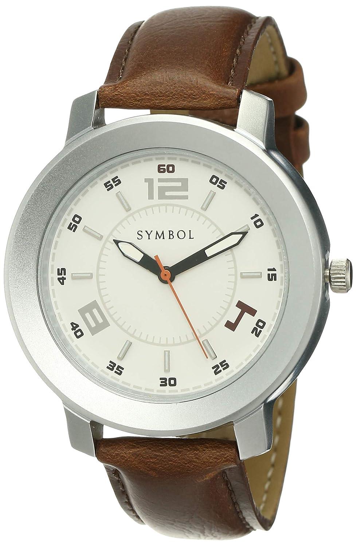 AmazonBrand-SymbolSpring-Summer21AnalogWhiteDialMensWatch-AZ-SYG16-E