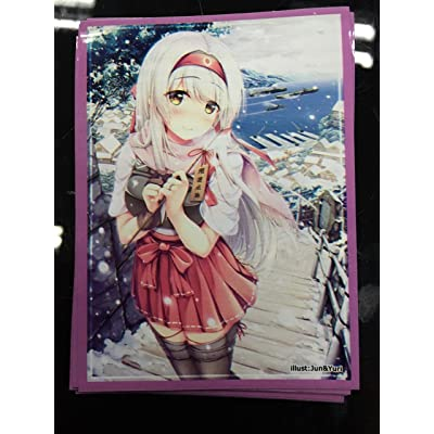 (60)MTG WOW Kantai Collection KanColle Shouk Card Sleeves 60 pieces 67x92mm: Toys & Games