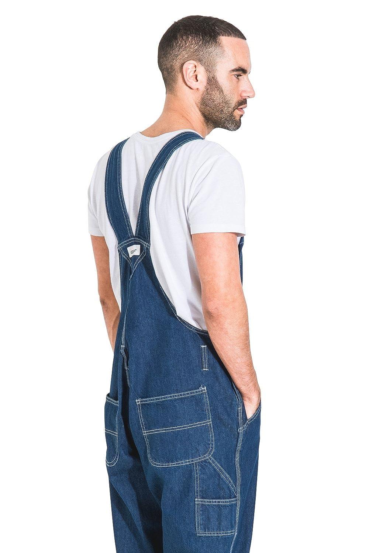 Uskees Salopette Jeans Uomo vestibilit/à Morbida /'Stonewash/' Salopette a Buon Mercato MENSVALUESW-36W
