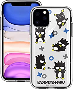 iPhone 11 Pro Max Case Sanrio Cute Border Clear Jelly Cover [ iPhone 11 Pro Max (6.5inch) ] Case - Play Bad Badtz-Maru