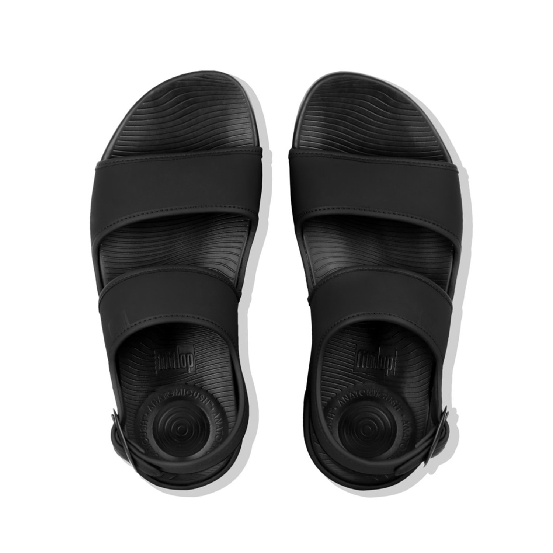 b4ef9c3514a631 Fitflop Men s Lido Tm Back-Strap Sandals in Neoprene Flip Flops   Amazon.co.uk  Shoes   Bags